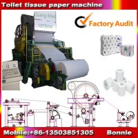 Toilet Paper Jumbo Roll/Tissue Paper Roll Making Machine On Sale ! 100% Money Back Guarantee !