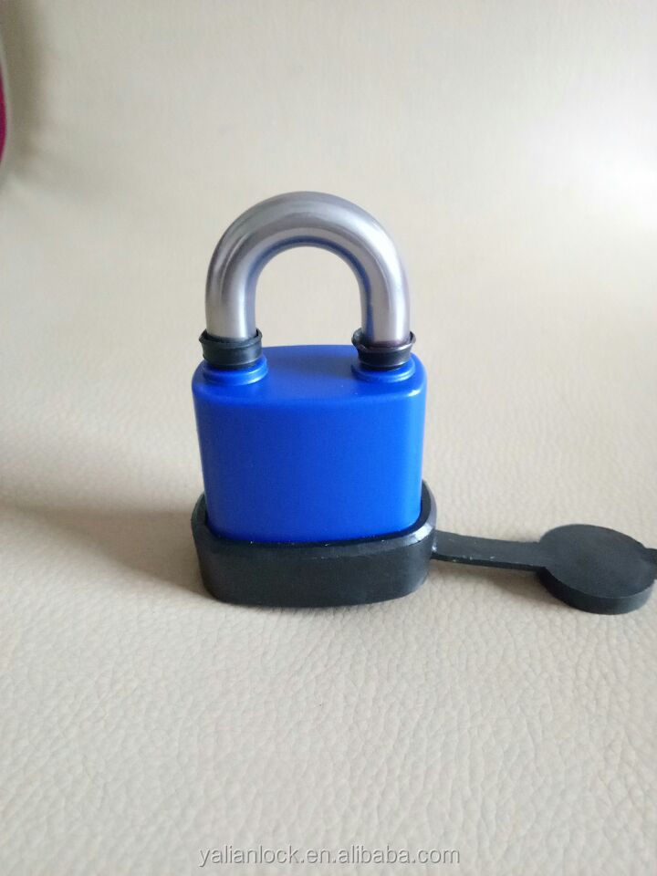 New Design Stianless Steel Padlock With Numerical Remote Control Function And Water- proof Cover