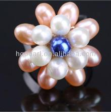 pearl ring fashion jewelry engagement ring