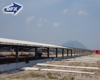 Prefabricated Light Steel Structure Poultry Chicken Farm Building For Sale In Malaysia