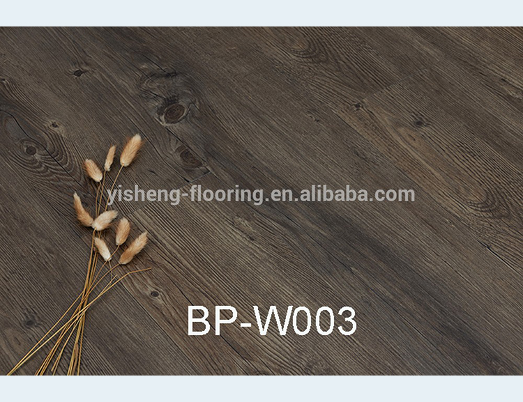 Factory dark oak special wooden plank indoor usage natural flooring vinyl