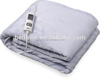 Electric Overblanket Bellavie Heated blanket, flannel fleece with 6 Settings
