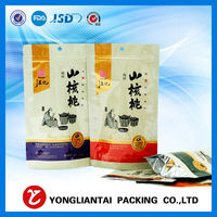Zipper Top Sealing Surface Handling slider zipper bag for underwear packaging