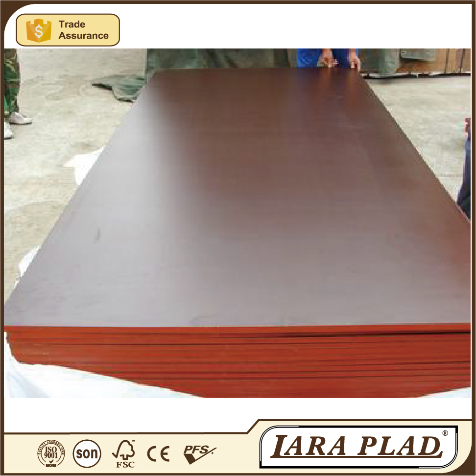 Dark brown film faced plywood with wbp 15mm