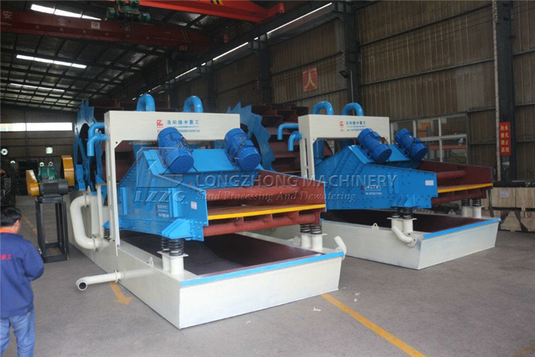 LZ36-75 wheel sand washing machine from China
