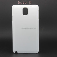 3d sublimation blank cover case for Samsung galaxy note 3