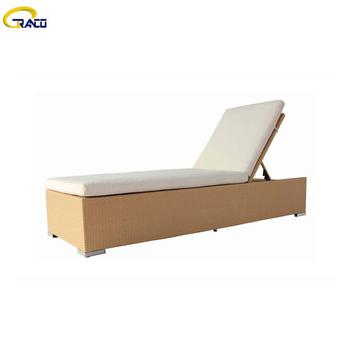 Good quality outdoor garden rattan wicker daybed