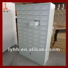 Hot sell&High end 50 drawers metal pharmacy godrej hospital furniture