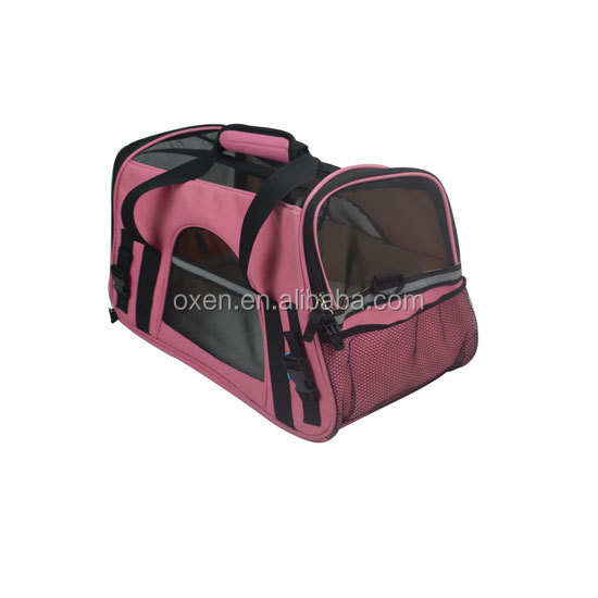 Pettom Pet Carrier for Dogs & Cats Comfort Best portable travel pet dog carrier with pocket dog carrier bag