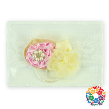 Top Quality Baby Headband Fashion Headband Manufacturer Custom Pink & Ivory Pearls Headbands On Sale