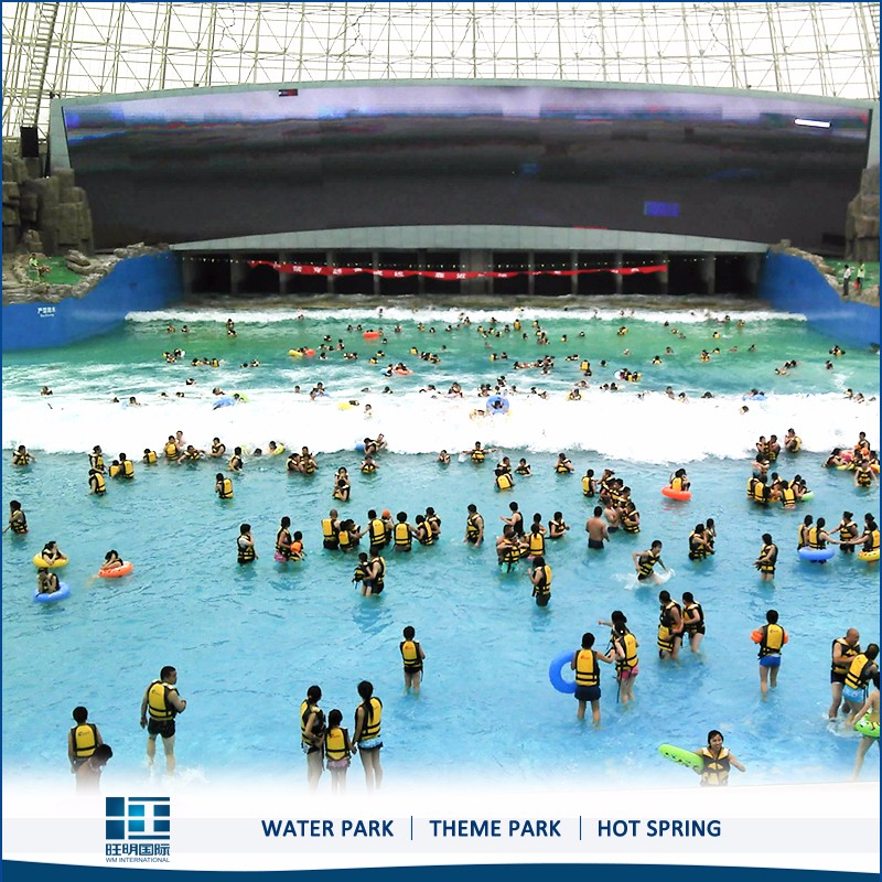 Tsunami Pool Wave Pool System For Large Outdoor Park