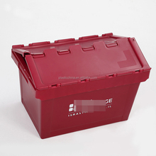 Fruit vegetable plastic bin stacking 60l