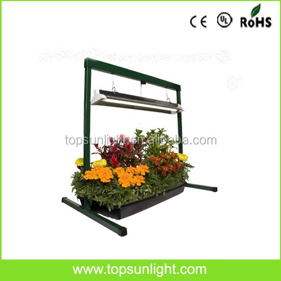 edl t5 fluorescent grow plant light 2 ft light stand 2u0027