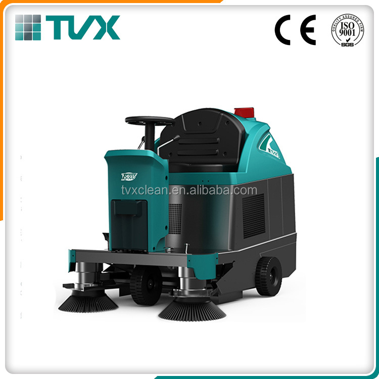 2016 trending products industrial floor sweeper scrubbers with CE