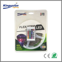 2015 hot sale high quality SMD5050 &3528rgb led strip blister packaging