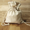 Unbleached Muslin Cotton Drawstring Pouch