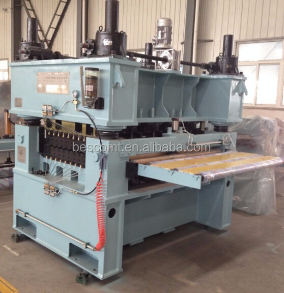 carbon steel plate straightening machine, plate leveling machine