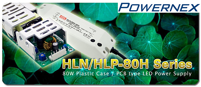 [ PowerNex ] MeanWell power supply, HLN-80H-30 Type A (80W 30V 2.7A) Internal potentiometer Dimming LED driver, IP64