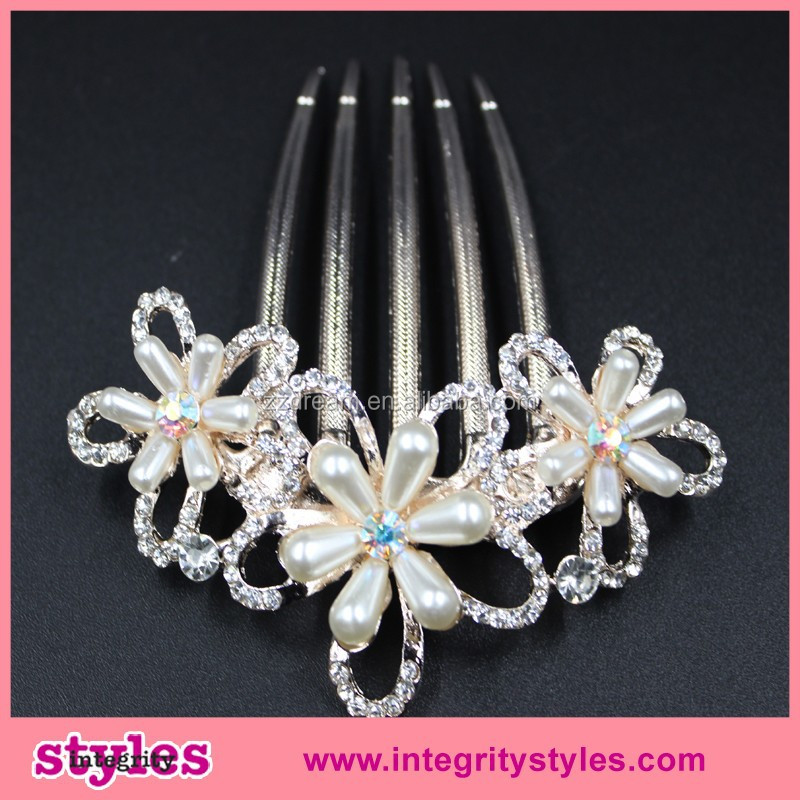 Cheap New Pearl Wedding Hair Accessories