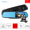 China Manufacturer 4.3 Inch Car Rearview Mirror Camera DVR