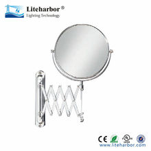 bathroom mirror dual purpose circular design light fixtures led