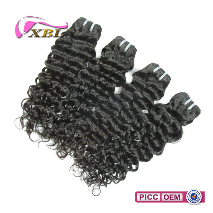 Lasting one year factory price cheap human virgin hair extension