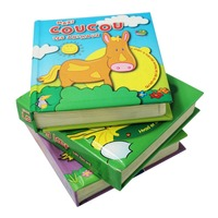 Customize Colorful Professional Cardboard Children Book
