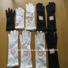 Nylon Gloves For fashion, formal wear or uniform accessories, waiters, banquet staff, military, police, parade etc,