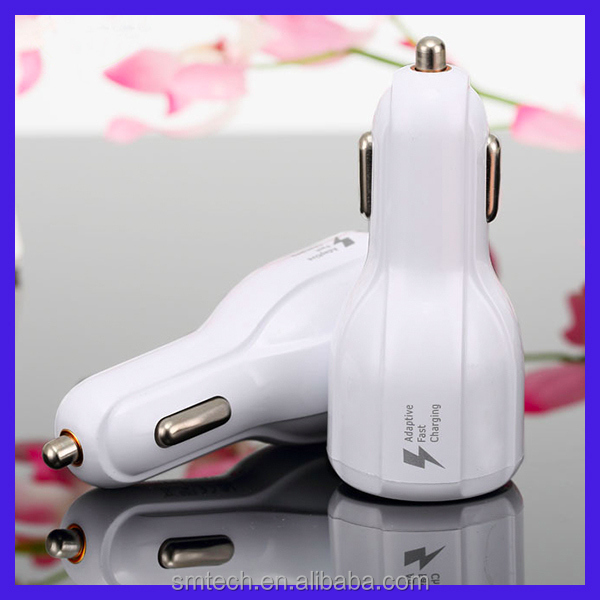 New Dual quick charge 5V 3.1A / 9V 1.67A car phone charger