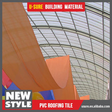 transparent roofing sheet swimming pool construction materials