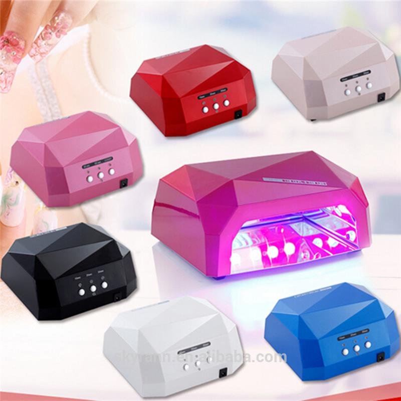 Better professional manufacturer lad curing nail lamp pedicure and nail dryer with lowest price foot and nail dryer