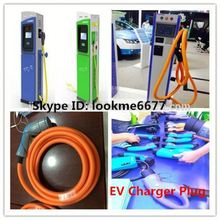 j1772 portable solar charging station electric vehicle