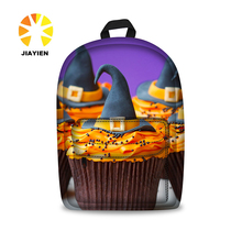 12 inch 3D cute design printing sublimation soft light children bag backpack for boys and girls
