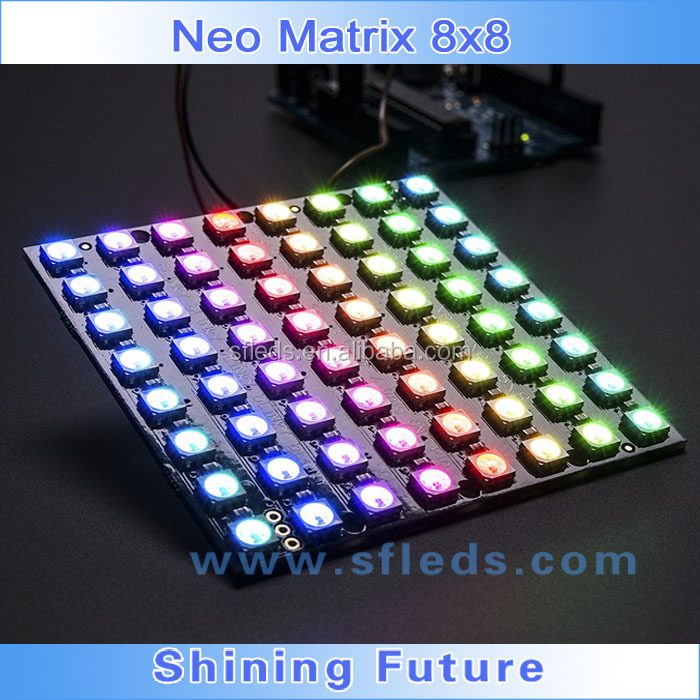 New Arrival 16*16 Pixels WS2812 Chip SMD5050 RGB with WS2811 IC bulit-in LED Digital Flexible Panel Light