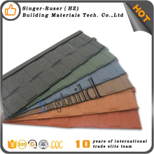 Zambia/Tanzania/Kenya Stone Coated Metal Roofing Tile With KBS standard