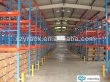 drive in type cold room pallet storage rack