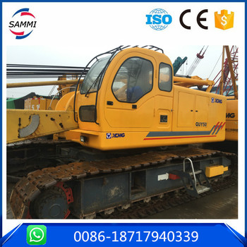 China brand 50t crawler crane,Used condition QUY50 Crawler crane for sale