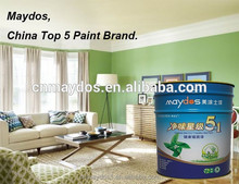 Maydos Formaldehyde free waterbased odorless interior rubber paint