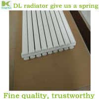 Central Heating flat tube radiators ,household elliptic tube radiator , vertical tube heating radiator using hot water