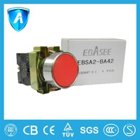 Covered push button switch with CE certification