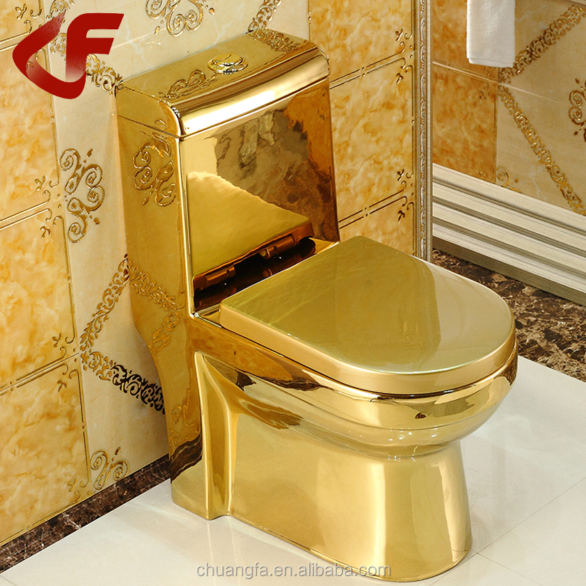 ceramic sanitary ware gold color decorative wc toilet a 313 buy