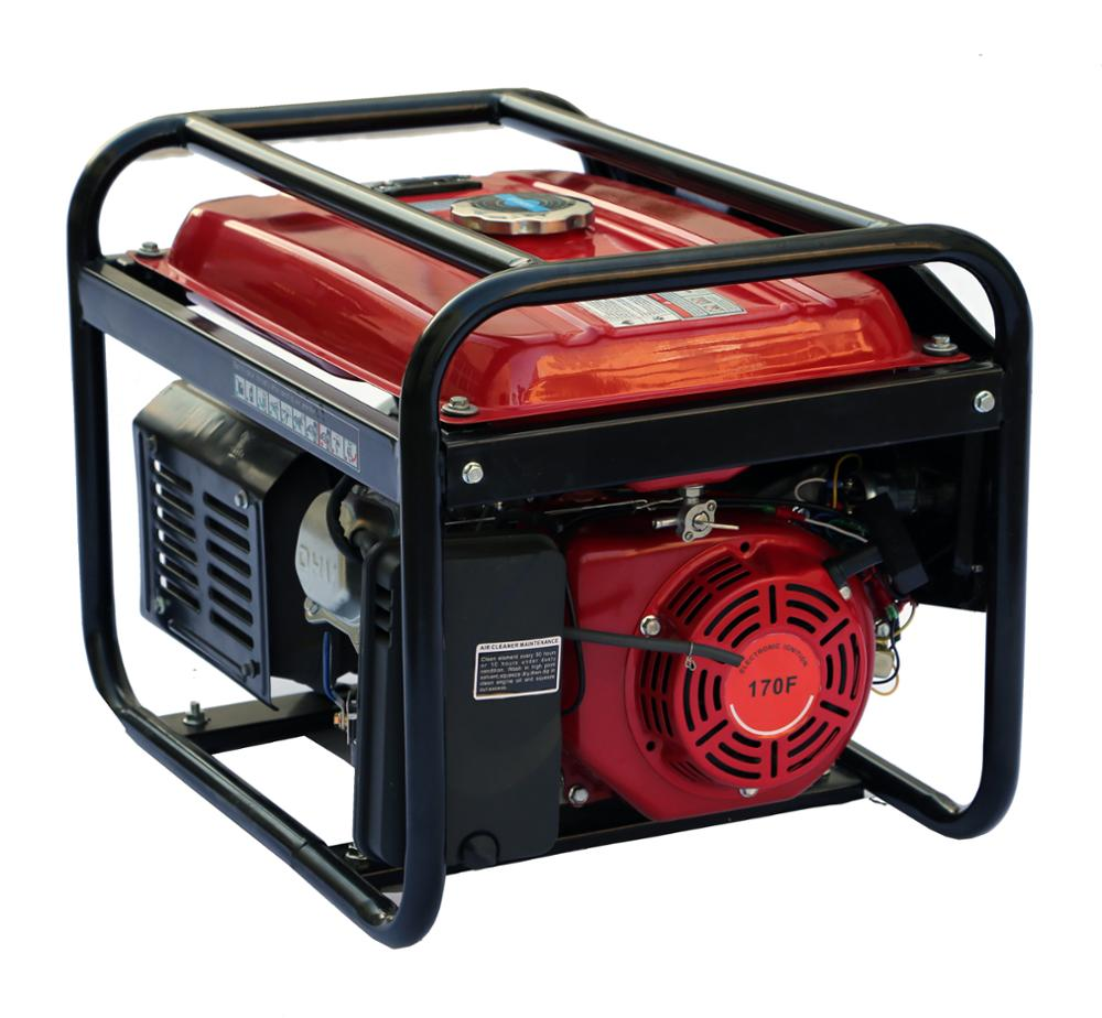 Best Price Portable Power Dual Fuel (Gasoline and Gas) 3000 Watt Generator for Home Use