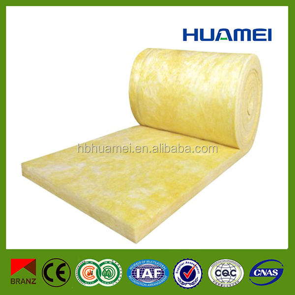 fireproof foil glass wool insulation