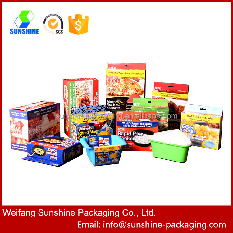 High quality food paper packing box