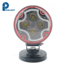 High Power 12W Beam Aura Off Road Car Work Led Light For All Boat Auto Parts