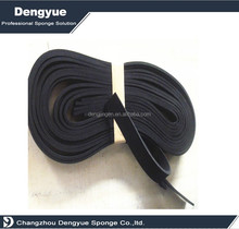 1 Inch Wide X 1/2 Inch Thick Neoprene Rubber self adhesive strip