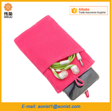 Velvet mobile Phone Sleeve cell phone Pouch Cover Case for Cellphone