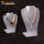 Latest design fashion acrylic jewelry necklace display busts