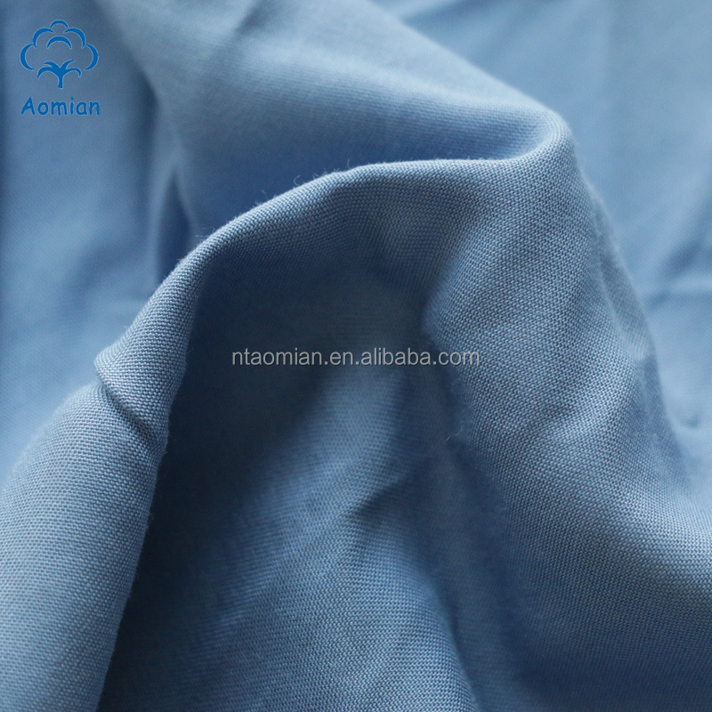 Anti-Bacteria natural 100 cotton bamboo fiber textile for bed sheets