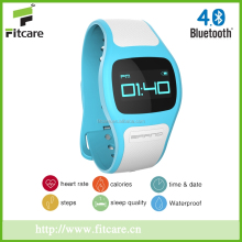 Advance bluetooth heart-rate monitor watch with walking/running sensor